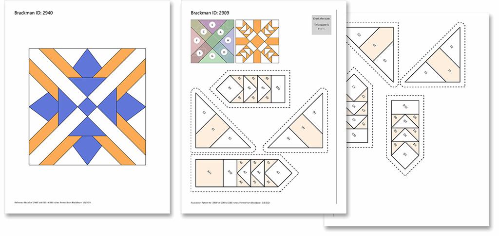 BlockBase+ Block and Foundation Printouts