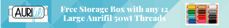 Aurifil Thread Free Storage Box