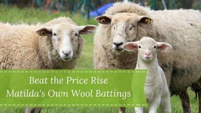 Matildas Own wool batting