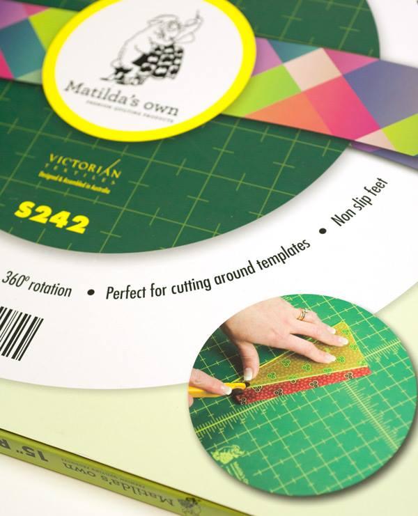 Matilda S Own 15 Quot Diameter Rotating Cutting Mat Ebay