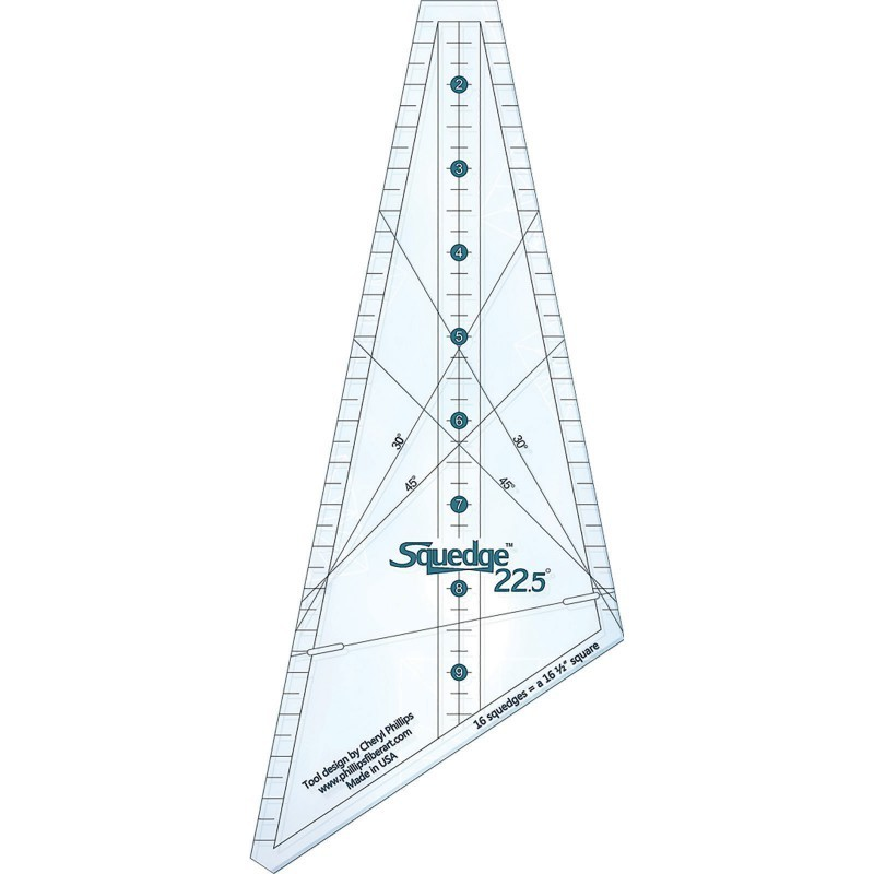 18 Degree Squedge Ruler By Cheryl Phillips By Phillips