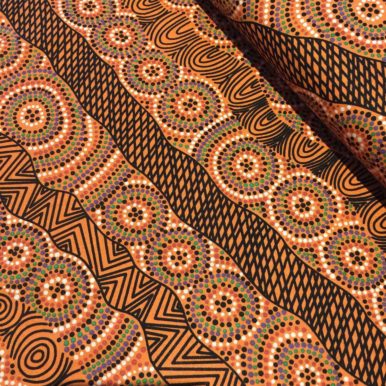 Aboriginal Art Fabric 10 Pieces 10 Quot Squares Layer Cake