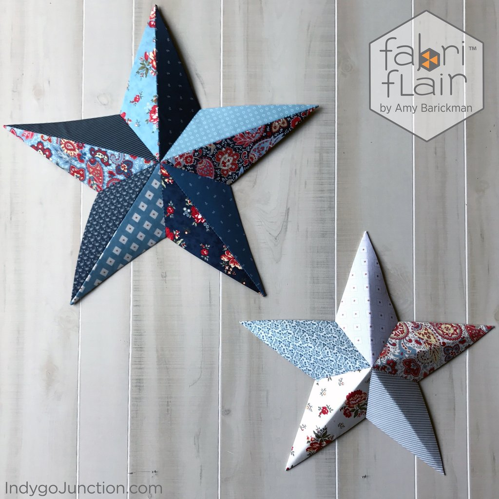 Fabriflair Wall Art Stars Pattern By Indygo Junction
