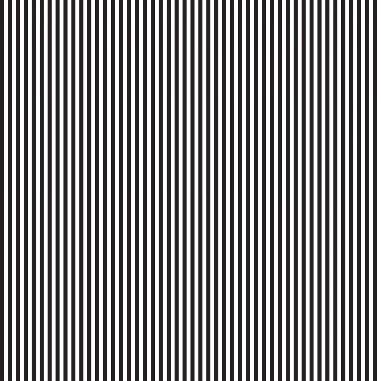 Black White Stripe Cotton Fabric 1 8 Inch Stripe