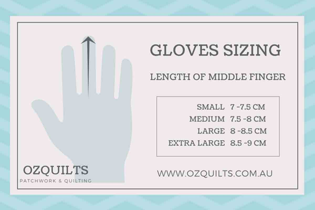 Machine Quilting Gloves with Fingertip Grips