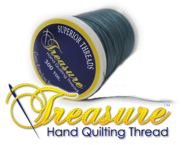 Superior Treasure Hand Quilting Thread OzQuilts