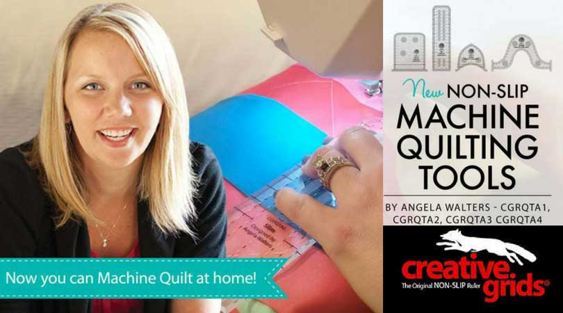 MAIN BANNERS Angela Walters Creative Grids Machine Quilting Rulers