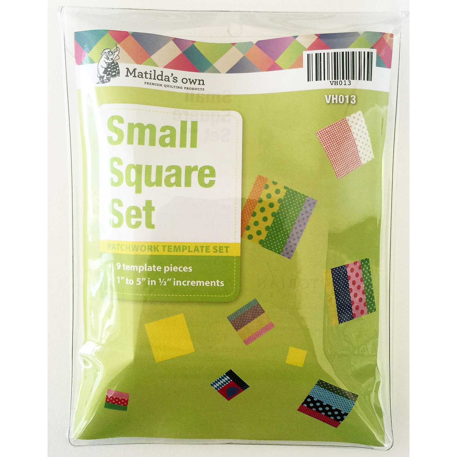 Matildas Own Small Squares Patchwork Template Set By Matildas Own
