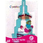 Susan Bates Crystalites Pom Pom Maker Tool kit by Susan Bates Pom Pom Makers - OzQuilts