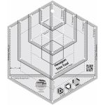 Creative Grids Hexagon Trim Tool by Creative Grids Hexagon Rulers - OzQuilts
