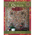 Scrappy Firework Quilts by Edyta Sitar of Laundry Basket Quilts Books - OzQuilts