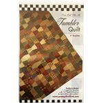 Tumbler One Patch Pattern & Template by Come Quilt with Me Quilt Blocks