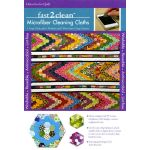 fast2clean™ Hexa-Go-Go Quilt Microfiber Cleaning Cloths by C&T Publishing Cleaning Cloths - OzQuilts