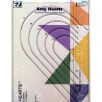 EZ Quilting Easy Hearts Template by EZ Quilting Geometric Shapes - OzQuilts