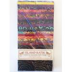 Island Batik Strip Pack - Sangria