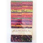 Island Batik Strip Pack<br>Mango Salsa by Island batik Bali Batik - OzQuilts