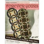 Forever Yours Wedding Ring Table Runner by Quiltworx Judy Niemeyer Quiltworx - OzQuilts