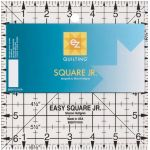 "EZ Quilting Easy Square Jr. Ruler 6.5"" Square by EZ Quilting Square It Up Rulers"