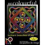 Brilliant Beauties of Joy Pattern by Jacqueline de Jongue by BeColourful Quilts by Jacqueline de Jongue Patterns & Foundation Papers - OzQuilts