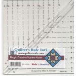 "Magic Quarter Square Triangle Ruler 6"""
