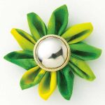 Clover Kanzashi Flower Maker<br>Extra Small Gathered Petal (35mm) by Clover