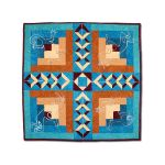 Desert Diamonds Wall Hanging & Table Topper by Bright Quilting Notions Table Toppers, Tuffets & Runners - OzQuilts