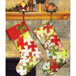 Stocking Sweet Stocking Pattern for the Lil Twister Ruler by Bean Counter Quilts Christmas - OzQuilts