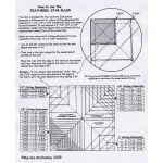 Feathered Star Ruler by Feathered Star by Marsha McCloskey Quilt Blocks - OzQuilts
