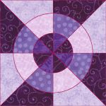 Matilda's Own Wheel of Fortune Patchwork Template Set by Matilda's Own Quilt Blocks - OzQuilts