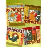 Be Attitudes by Art to Heart Art to Heart - OzQuilts