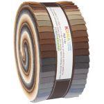 Kona Cotton Roll Up Solids Neutrals Palette by Robert Kaufman Fabrics Pre-Cut Fabrics