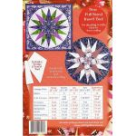 Mariners Compass with Wedge Tool and Insert Tool by Phillips Fiber Art Quilt Patterns - OzQuilts