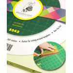 "Matilda's Own 15"" Diameter Rotating Cutting Mat by Matilda's Own Cutting Mats - OzQuilts"