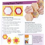 Fast2cut HexEssentials 2.5 Inch hexagon, triangle and diamond templates by C&T Publishing Geometric Shapes - OzQuilts