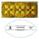 EZ Quilting Uneven Nine Patch by EZ Quilting Quilt Blocks - OzQuilts