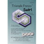 Triangle Frenzy Swirl Pattern by Artistically Engineered Designs Table Toppers & Runners - OzQuilts