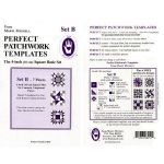 "Marti Michell Template Set B , 4"" Square Basic Set by Marti Michell Quilt Blocks - OzQuilts"
