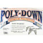 "Hobbs PolyDown Batting<br>King Size<br>120"" x 120"" by Hobbs Batting Pre-Cut Batts"