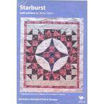 Starburst Pattern Australian Aboriginal fabric Designs by M & S Textiles Quilt Patterns - OzQuilts