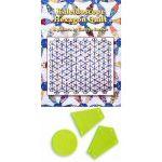 Kaleidoscope Hexagon Quilt Pattern Includes Template Set by Matilda's Own Quilt Blocks - OzQuilts