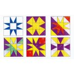 "Matilda's Own 6"" 9 Patch Star Patchwork Template Set by Matilda's Own Quilt Blocks - OzQuilts"