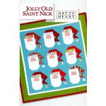 Jolly Old St Nick Pattern by Art to Heart by Art to Heart Christmas - OzQuilts