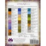O Holy Night Impressionist Stained Glass by  Christmas - OzQuilts