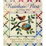 Rainbow Nest by Edyta Sitar of Laundry Basket Quilts Laundry Basket Quilts - OzQuilts