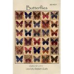 Butterflies Pattern by Edyta Sitar of Laundry Basket Quilts Applique - OzQuilts