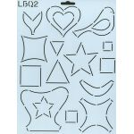 Applique Silhouettes Templates by Edyta Sitar by Edyta Sitar of Laundry Basket Quilts Applique Templates - OzQuilts