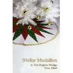Stellar Medallion - A Ten Degree Wedge Tree Skirt Pattern by Phillips Fiber Art Christmas - OzQuilts
