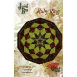 Ruby Ring Pattern by Phillips Fiber Art Quilt Patterns - OzQuilts