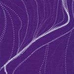 Sandhill Purple Australian Aboriginal Art Fabric by Anna Pitjara by M & S Textiles Cut from the Bolt - OzQuilts