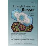 Triangle Frenzy Runner Pattern by Artistically Engineered Designs Table Toppers, Tuffets & Runners - OzQuilts